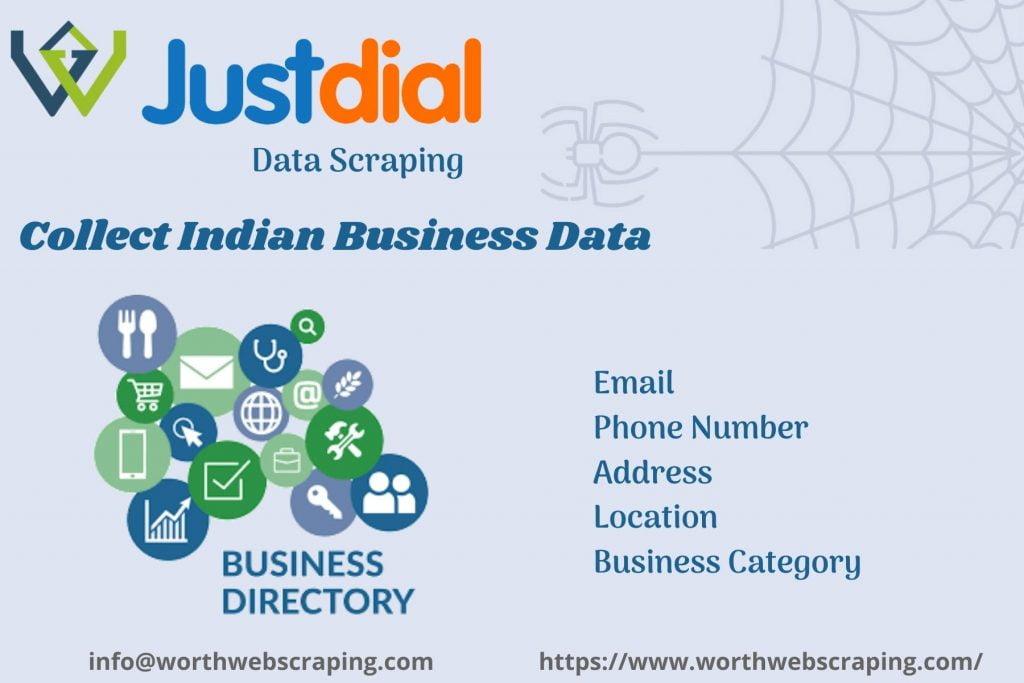 Justdial Data Scraping